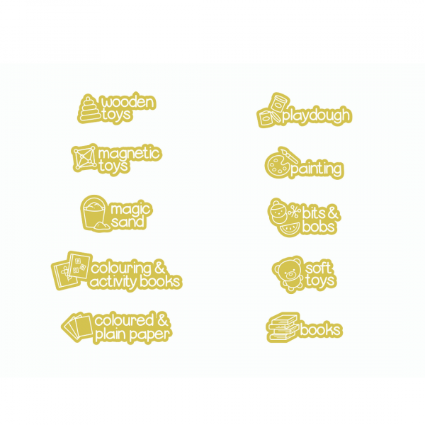 mustard picture labels